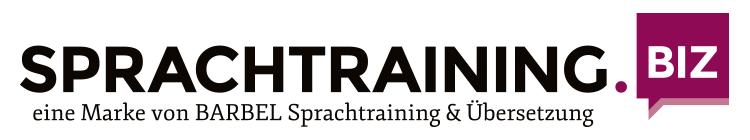 sprachtraining.biz - eine Marke von BARBEL Sprachtraining & Übersetzung