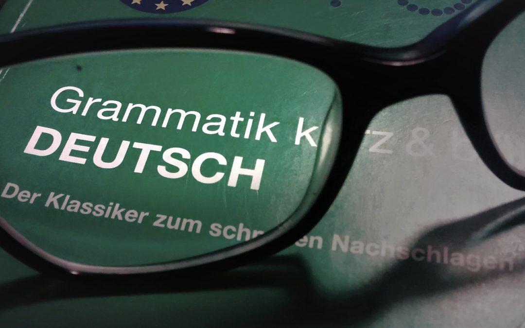 Die sechs wichtigsten Wortgruppen in Deutsch