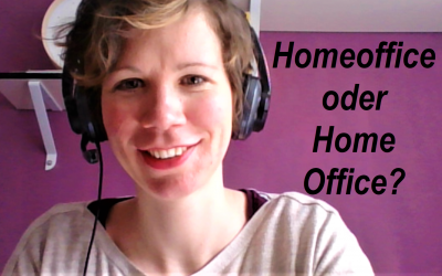 Gute Frage: Homeoffice oder Home Office?