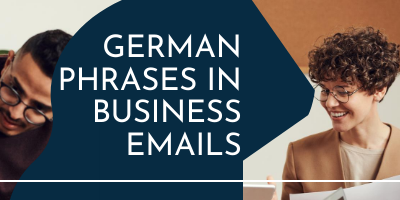 German phrases in business emails